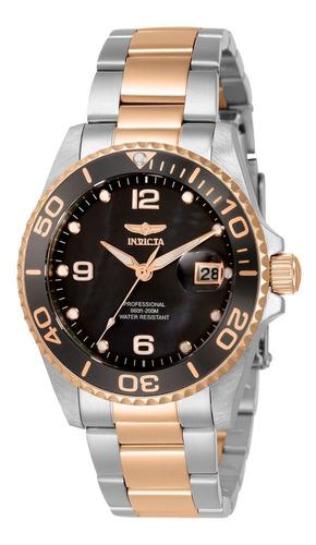 Reloj Invicta 33264 Acero, Oro Rosa Dama