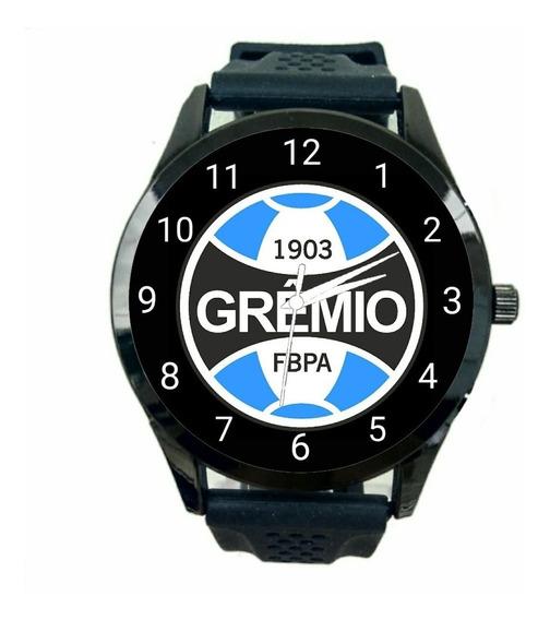 Relógio Grêmio Feminino Futebol Esporte Novo De Pulso T145