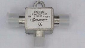 Kit 200x Peça Tap 12 Db Nanosat Tv Cabo 5-100mhz (eto11s12)