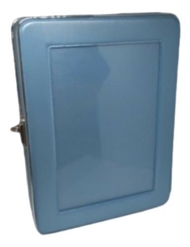 Álbum Para 80 Fotos -azul-maleta