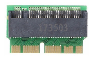 Adaptador M.2 Pci-e 12 + 16pin Ssd Mac Pro/air Ngff