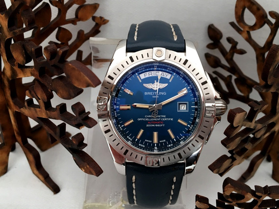 Breitling Galactic 44mm Automatico Full Set Doble Fechador