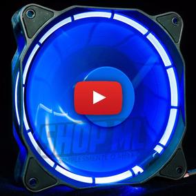 Cooler Fan Pc Gamer 120mm Led Azul Ventoinha Dx-12f