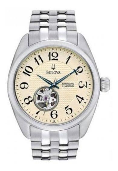 Relógio Bulova Masculino Automático Clássico Wb21847e