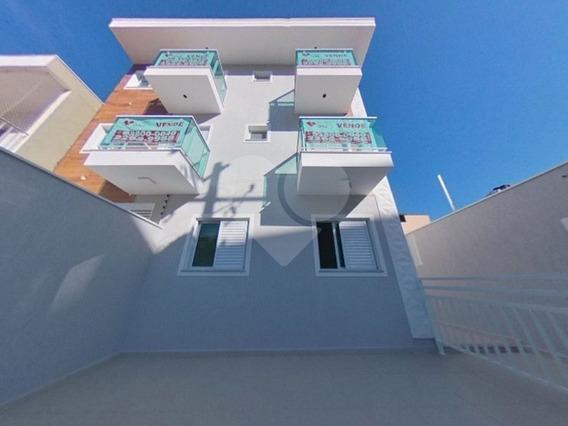 Condomínio Fechado De Casas Tipo Apartamentos Em Obra Na Vila Gustavo. 10 Minutos A Pé Do Metrô - 170-im375874