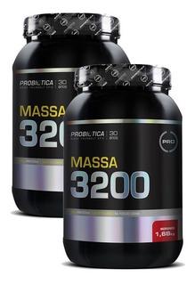 Kit 2x Massa 3200 Morango 1,680kg - Probiotica