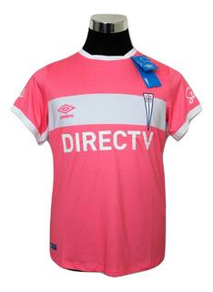 Camiseta Mujer Universidad Católica Rosada Pink Original