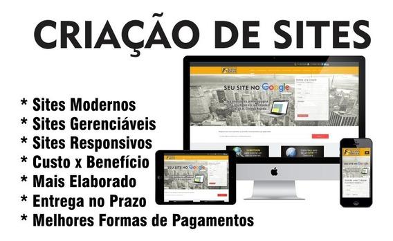 Criamos Seu Site / Desenvolvimento De Site Responsivo