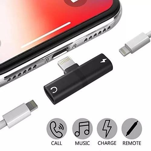 Adaptador 2 En 1 Carga & Audio Para iPhone