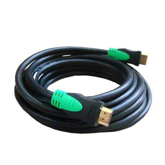 Cabo Hdmi 1.4 High Speed 5mts Golden