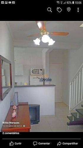 Apartamento Duplex À Venda, 92 M² Por R$ 250.000,00 - Villa Branca - Jacareí/sp - Ad0012