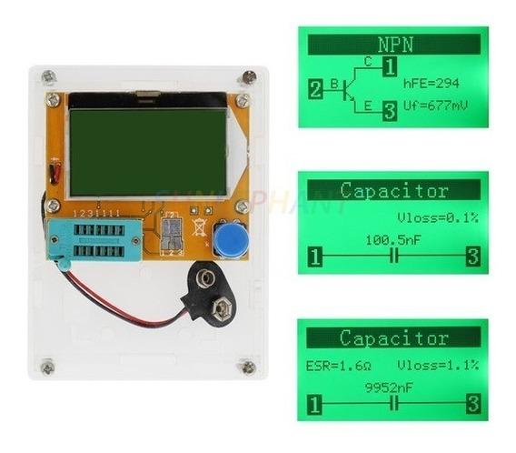 Medidor De Componentes Lcr, Transistor E Mosfets T4 + Case