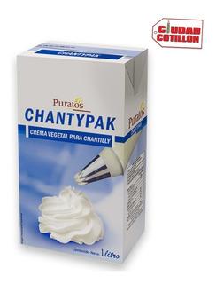 Crema Chantypack Puratos 1 Litro Ciudad Cotillón