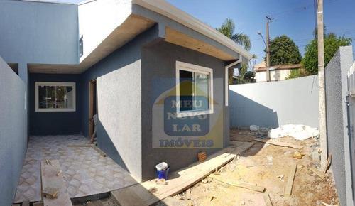 Casa Com 2 Dormitórios À Venda, 40 M² Por R$ 155.000,00 - Tatuquara - Curitiba/pr - Ca0409