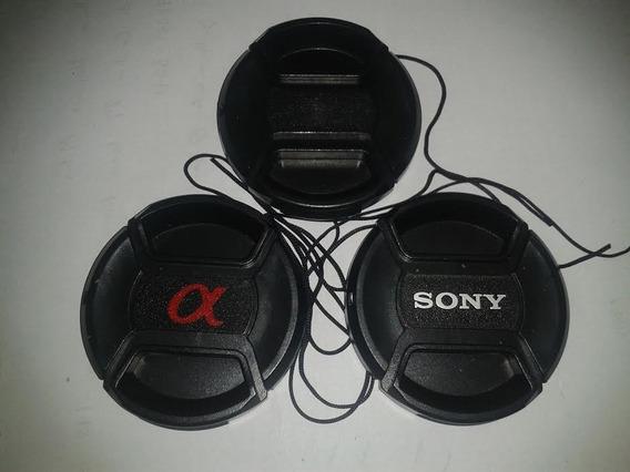 Saldão: Sony Dsc-hx300 - Tampa De Lente - 55mm - Lens Cap