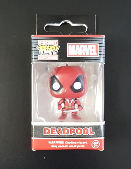 Chaveiro Funko Pocket Pop Keychain Deadpool - Original