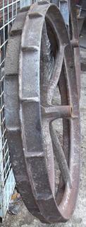 Ruedas De Hierro Fundido,tractor,campo,quincho,decoración