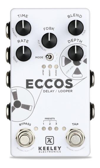 Pedal Keeley Eccos Delay & Looper Original Made In Usa