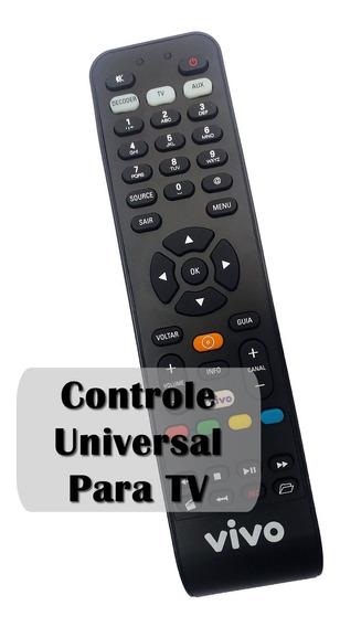 Controle Remoto Vivo Fibra Original Universal Para Tv
