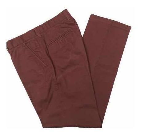 Pantalón Hombre Talle 30 Newport Gabardina Terracota 42cintu