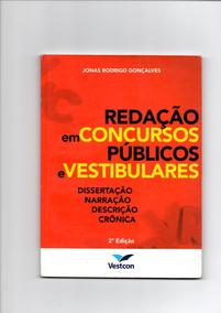 Livro Redação Em Concursos Públicos