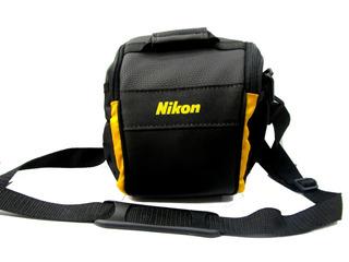 Bolso Reflex Pecari Nikon P/ D5600 D5400 D5300 D3400 D3100