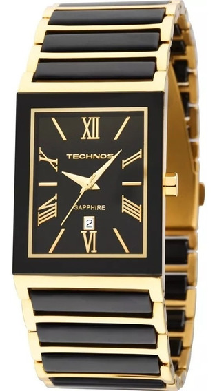 Relógio Technos Misto Cerâmica Safira 2015cf/4p Nfe