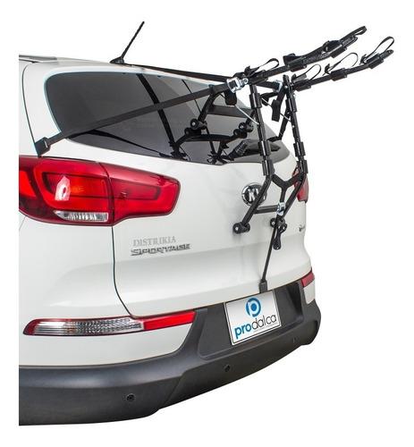 Portabicicletas Soporte 3 Puestos Sedan, Hatchback, Van, Suv