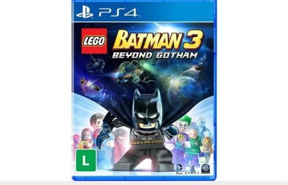Jogo Lego Batman 3 Beyond Gotham Original Midia Fisica Usado