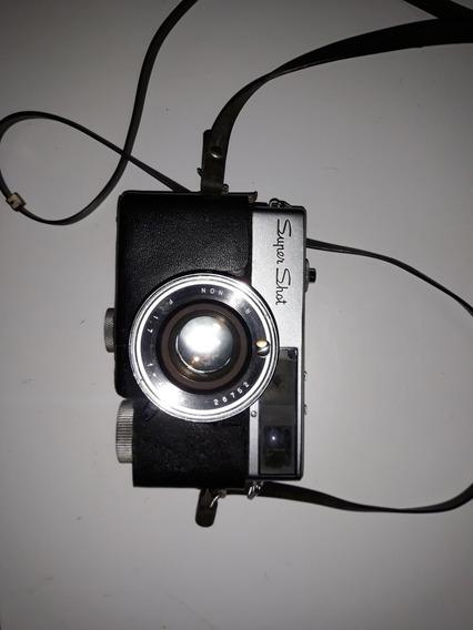 Câmera Fotográfica Antiga Ricoh Super Shot Analógica Ñ Leica