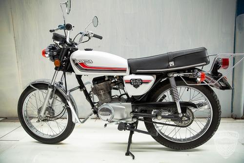 Honda Cg 125 - 1981 81 - Placa Preta