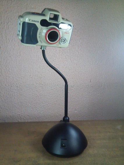 Cámara Fotográfica Canon Submarina Convertida A Lámpara