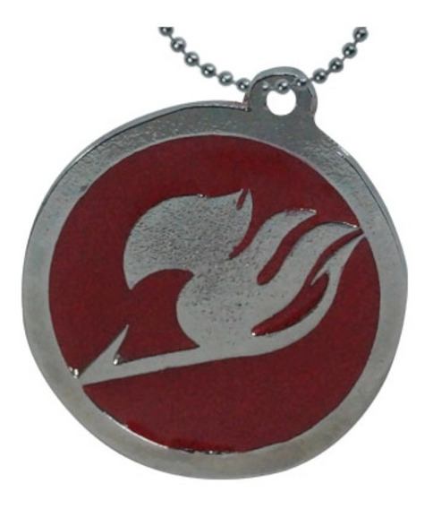 Fairy Tail Collar Dije Llavero Phonestrap Emblema