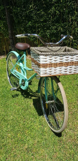 Bicicleta Dama Paseo Retro / Vintage Rodado 26