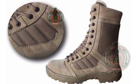 Botas Tipo Swat Muy Ligera Kaki Negra Militares Trabajo Rudo