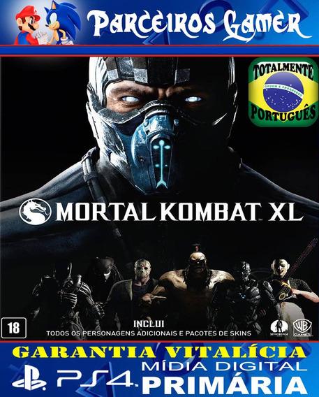 Mortal Kombat Xl - Ps4 1 - Mídia Digital - Combate - Luta