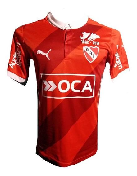 Camiseta De Independiente 2016 Parche De Las Malvinas Taglia