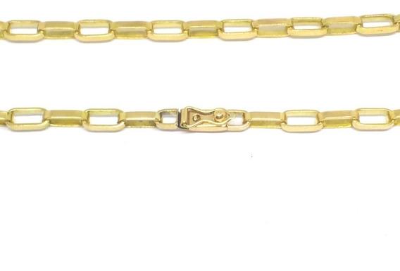 Cordão Masculino Ouro 18kl 750 Tijolinho Maciço 15 Gramas