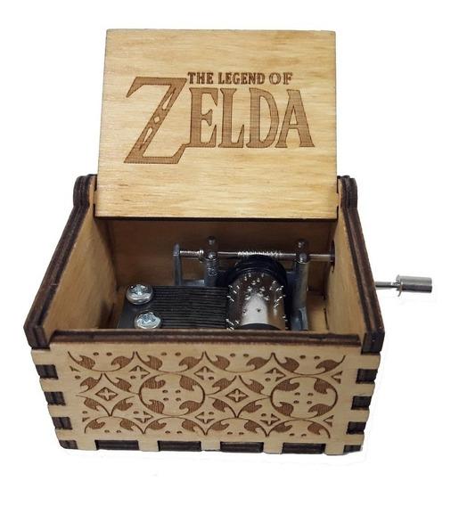 Caja Musical De The Legend Of Zelda De Colección