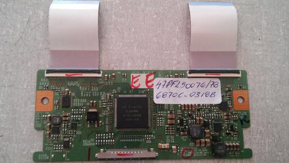 Placa Tcon Philips - 47pfl5007g/78 - 6870c 0318b