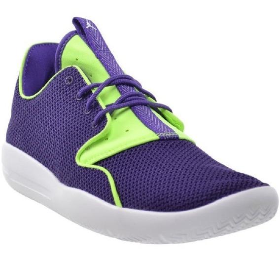 Tenis Nike Air Jordan Eclipse 23 Trainers Morado Y Neon Jca