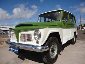 Ford Rural Luxo 1973 Verde Angra - Original Ateliê Do Carro