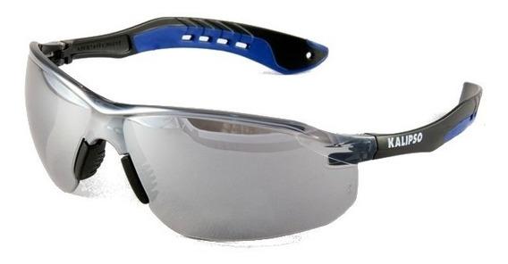 Oculos De Proteção Kalipso Jamaica Cinza Espelhado