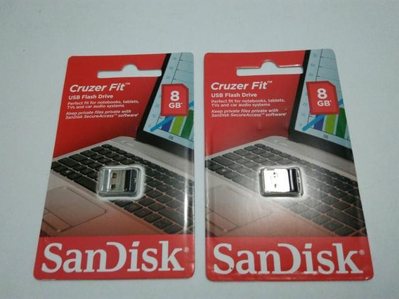 Pendrive Sandisk Cruzer Fit 8gb