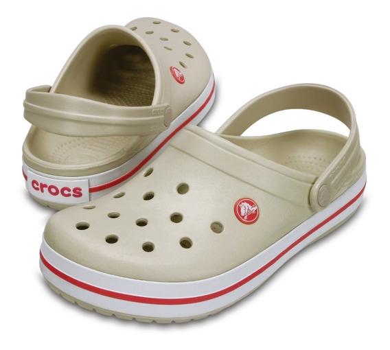 Crocs Crocband Rosa X11016 *original Revenda Autorizada