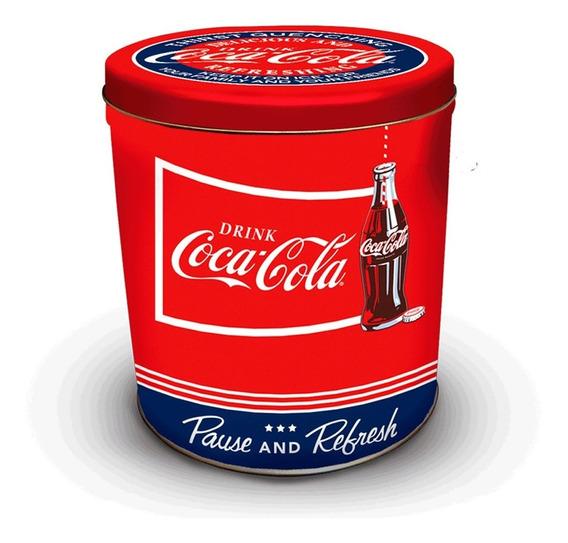 Lata Clasica Coca Cola Roja