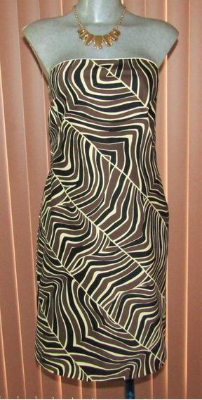 Precioso Vestido Strapless Nuevo Talla M Liz Claiborne