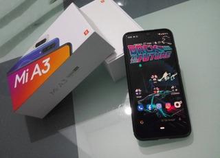 Celular Xiaomi Mi A3 Libre Negro