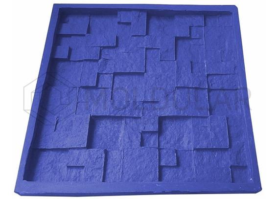 Forma Para Gesso 3d - 100% Silicone - Mosaico Travertino