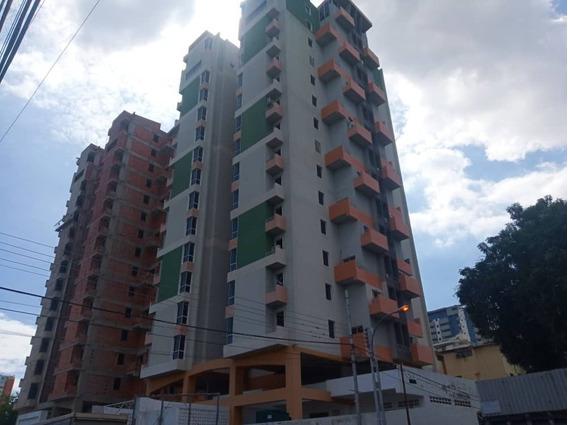 Apartamento En Obra Gris, Centro De Maracay, Buena Inversión
